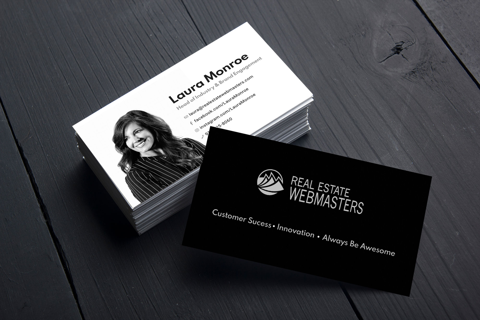 REW Brand - Business Cards
